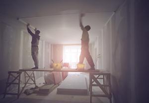 Builder cleans