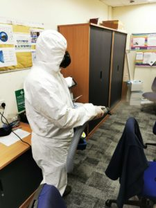 contamination cleaning london