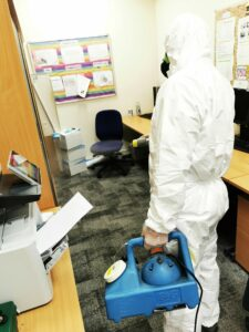 decontamination cleaning